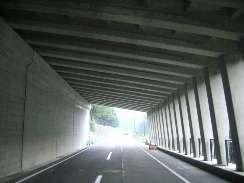 国道118号高陦災害防除工事