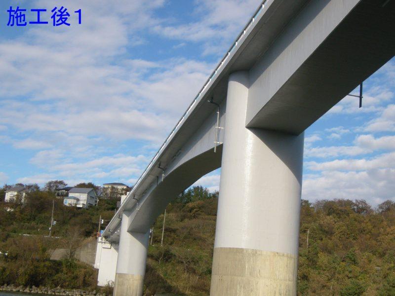 国道402号野積橋保護塗装工事