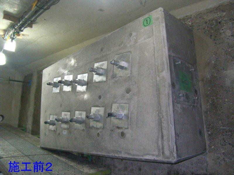 新潟大堰管理橋補修工事