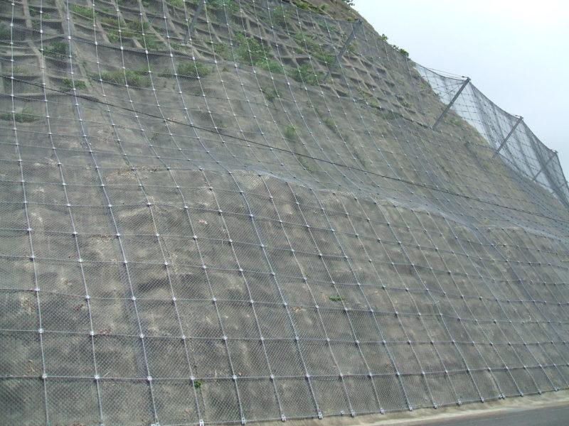 ビーズリンガーネット(高エネルギー吸収型落石防護網)