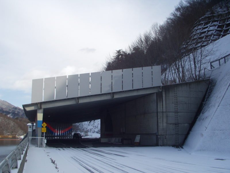 雪庇防止板・滑雪板