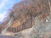 ハイパワーロックフェンス(高エネルギー吸収型落石防護柵)