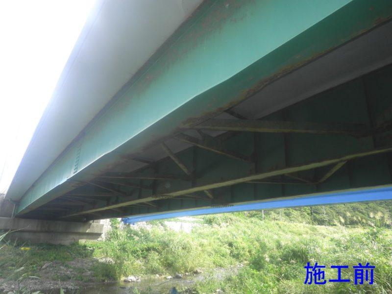 佐渡一周線矢柄川橋補修工事