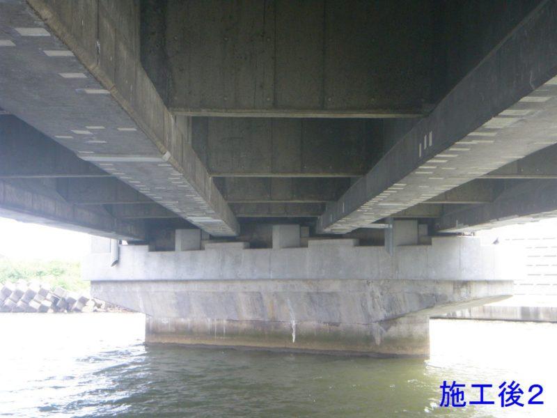 臨港八坂橋橋梁補修工事