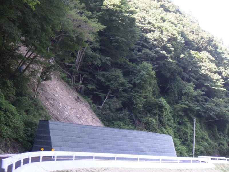 アースジオバンク(崩壊土砂防護補強土壁)