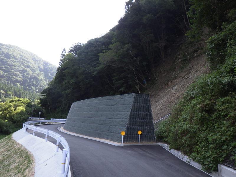 県道吉和戸河内線道路災害防除工事