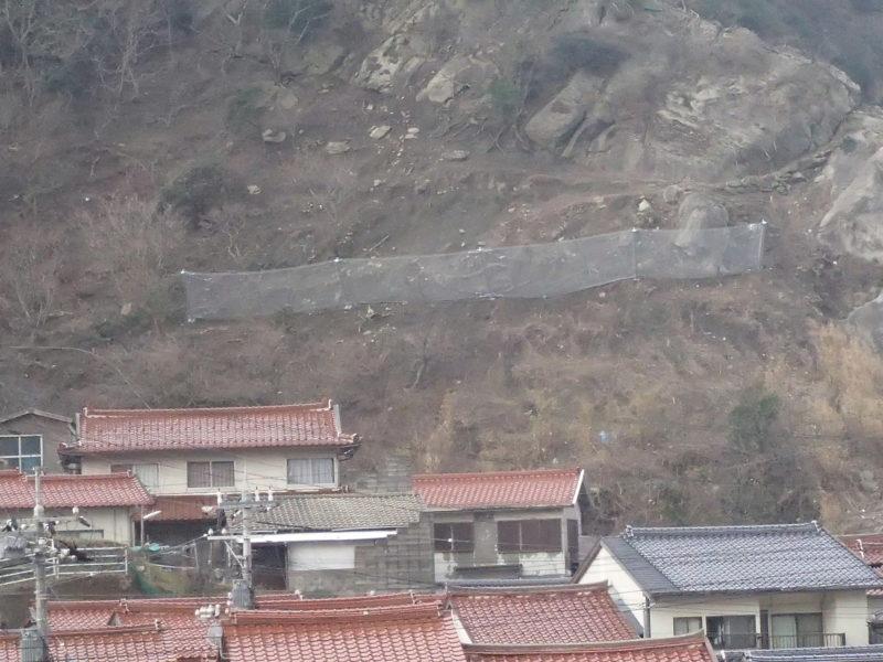 三津地区県単地すべり対策工事