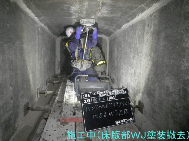 新潟新発田村上線(新胎内橋)防災安全(橋補)橋梁補修工事