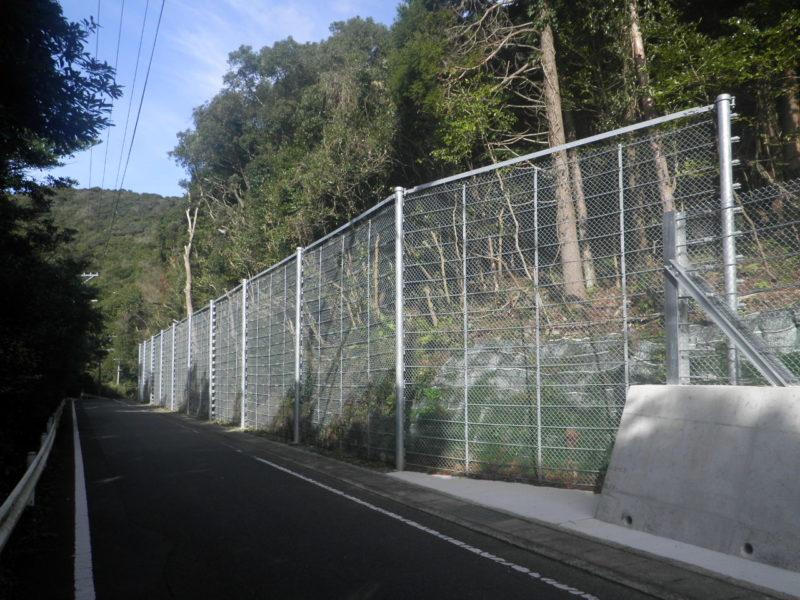 県道佐尾港線道路災害防除工事(4工区)