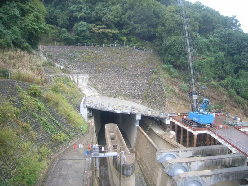 太田川発電所災害復旧対策工事