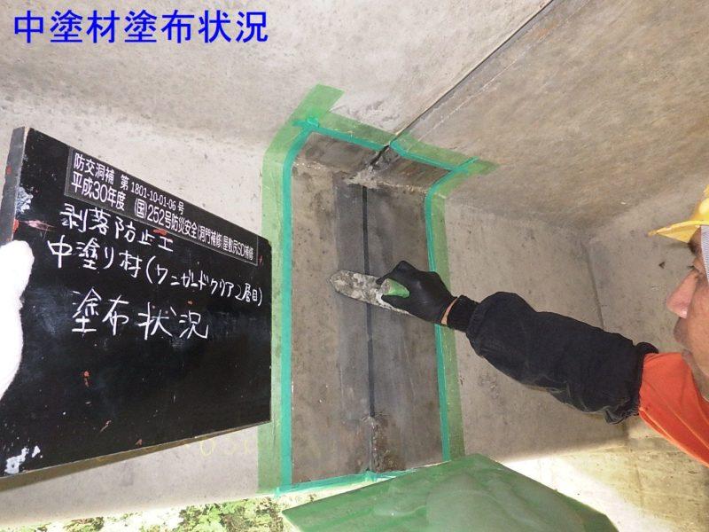 国道252号防災安全(洞門補修)屋敷尻SD補修工事