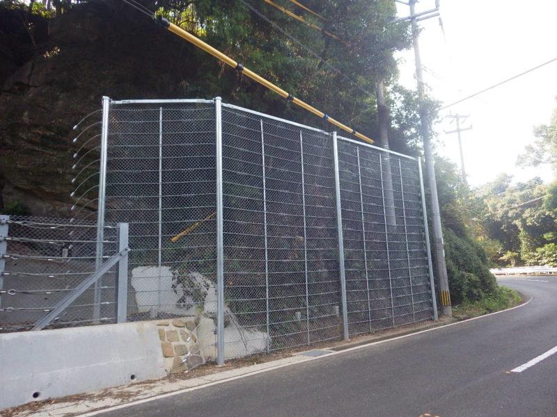 主要地方道佐々鹿町江迎線道路災害防除工事