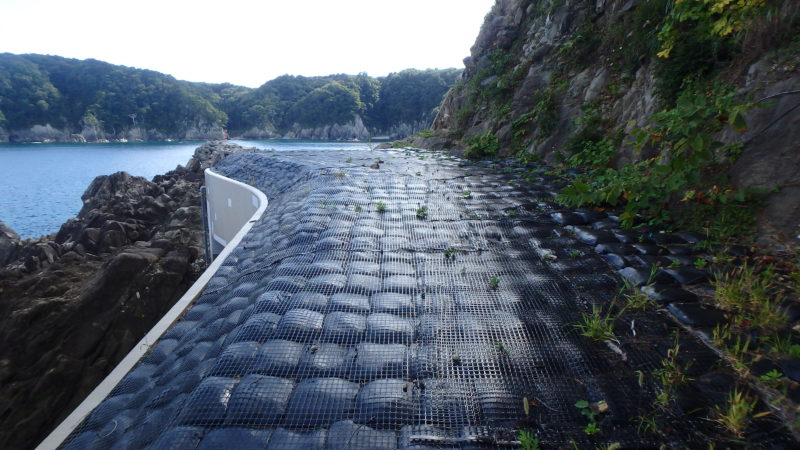三陸復興国立公園山王岩園地落石防護施設等再整備工事