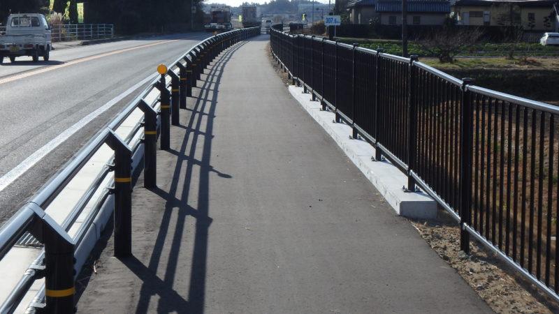 国道6号新地地区歩道設置工事