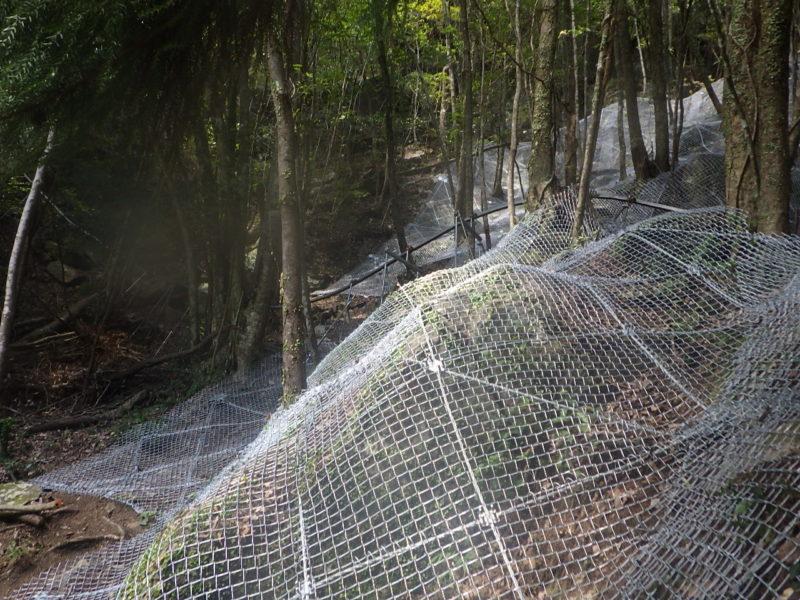小柳地区急傾斜地崩落対策工事