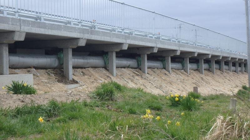 国道7号西目地区他構造物補修工事