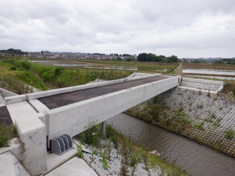 菖蒲川広域河川一級(防災安全緊急)農道橋架替工事
