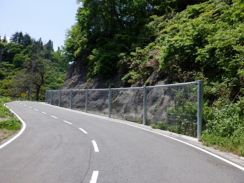 県道黒倉野中線 防災安全(雪寒・補正)せり出し防止柵設置工事