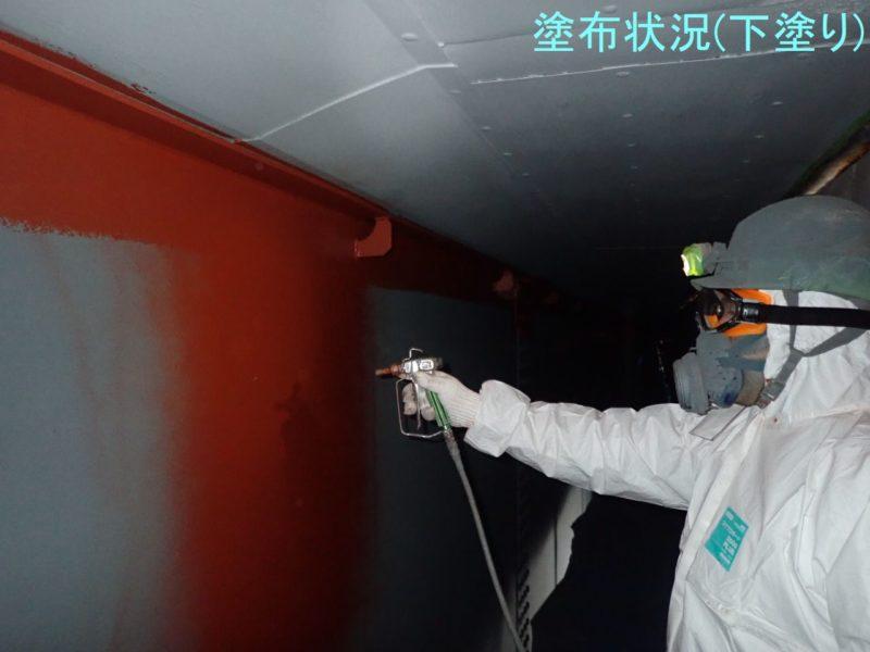 主要地方道新潟中央環状線(大阿賀橋)塗装塗替工事