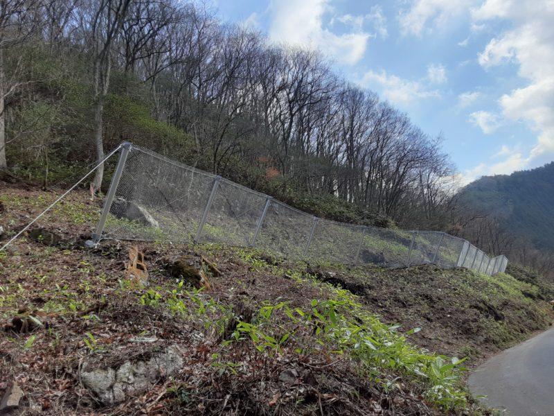 町道佐木谷虫尾線法面対策工事(1工区)