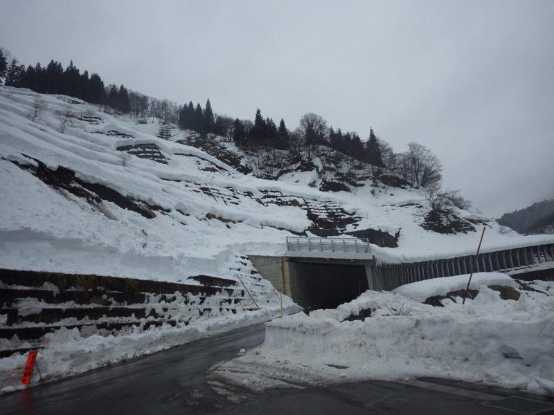 国道353号 防交雪寒スノーシェッド工事