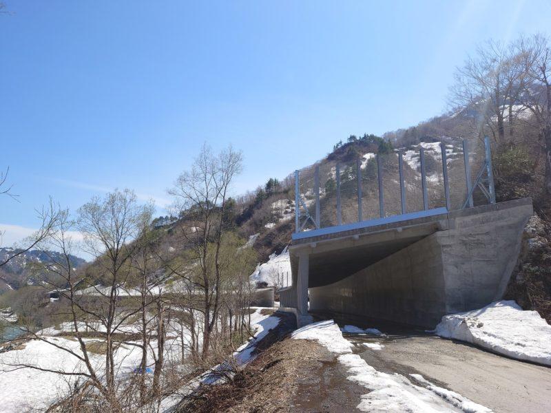 国道289号 道路橋りょう整備(再復)工事(防雪)