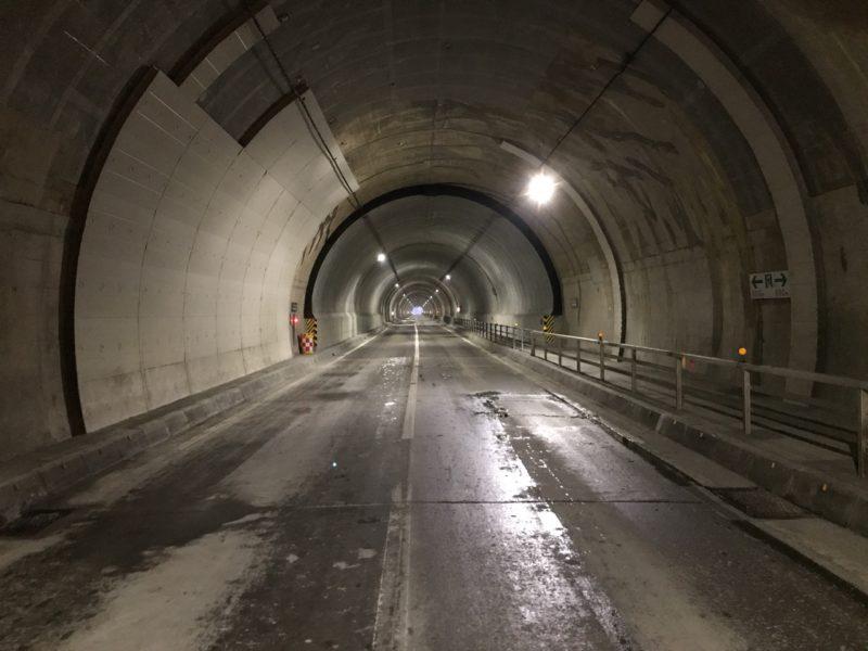 小樽定山渓線 時雨トンネルほか1トンネル補修工事
