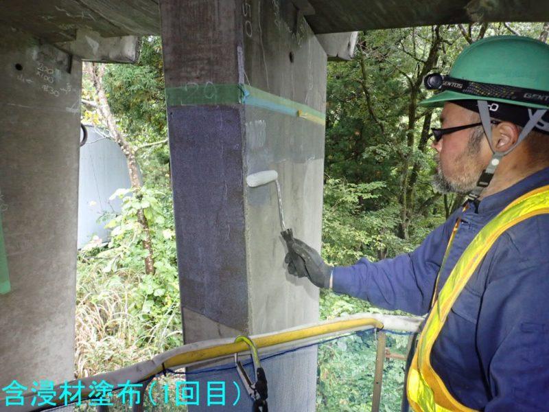 国道252号防災安全(洞門補修・補正)越ヶ沢第一SS補修工事