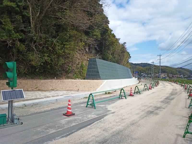 本庄福富松江線(大井工区)防災安全交付金(交通安全)工事