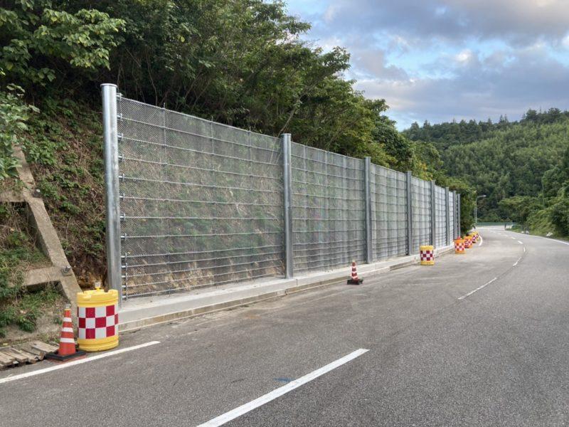 町道日須賀線 法面崩壊対策工事