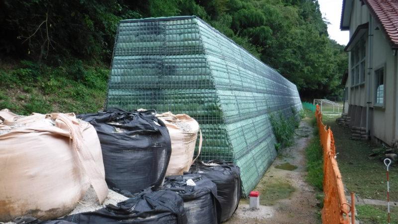 銀山上地区県単急傾斜地崩壊対策工事 第2期