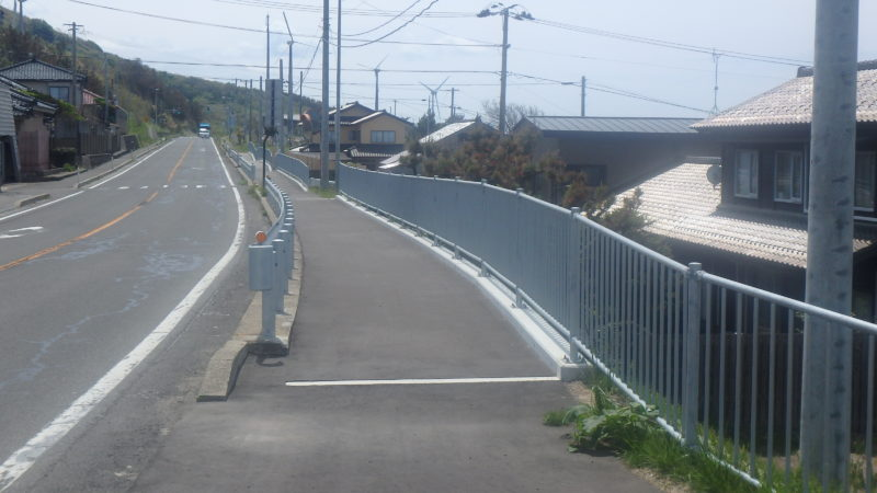 国道7号 本荘管内交通安全対策工事