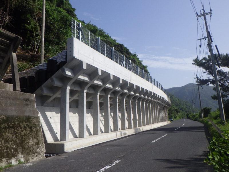 国道269号道路災害防除(補助)工事(根占辺田2-1工区)