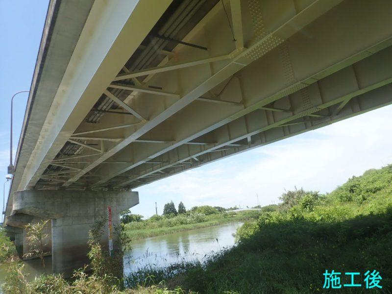 主要地方道新潟新津線(寿橋)塗装塗替工事