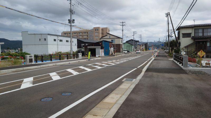 本町小粟線防災・安全(街路)米沢橋架替工事